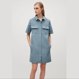 COS shirt dress with front pockets